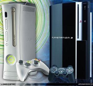 Xbox_360_Vs__Playstation_3_by_pedrosampaio